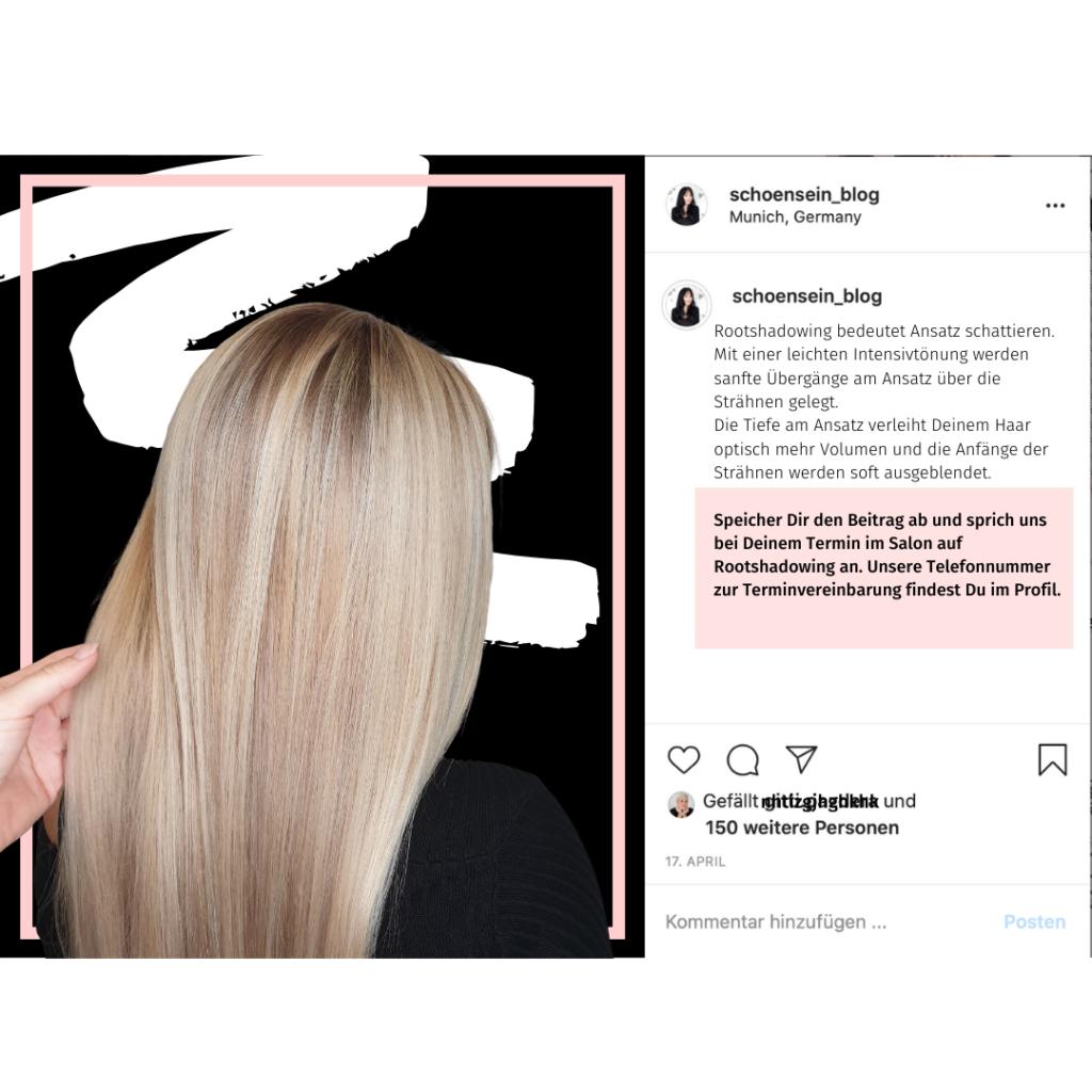 Bildtexte auf Instagram für Friseure
