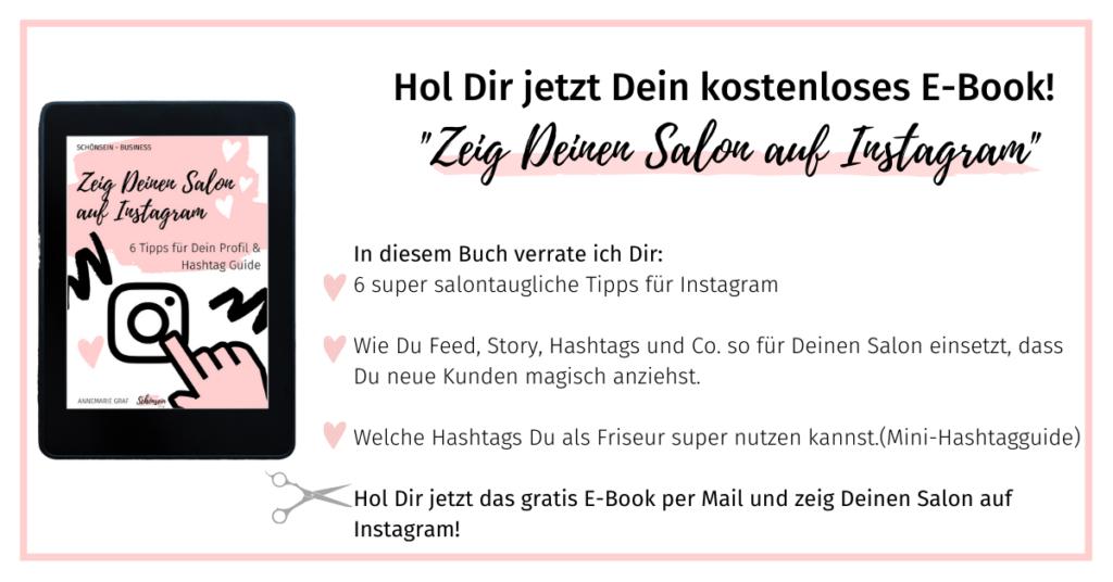 Instagram für Friseure, Zeig deinen Salon auf Instagram